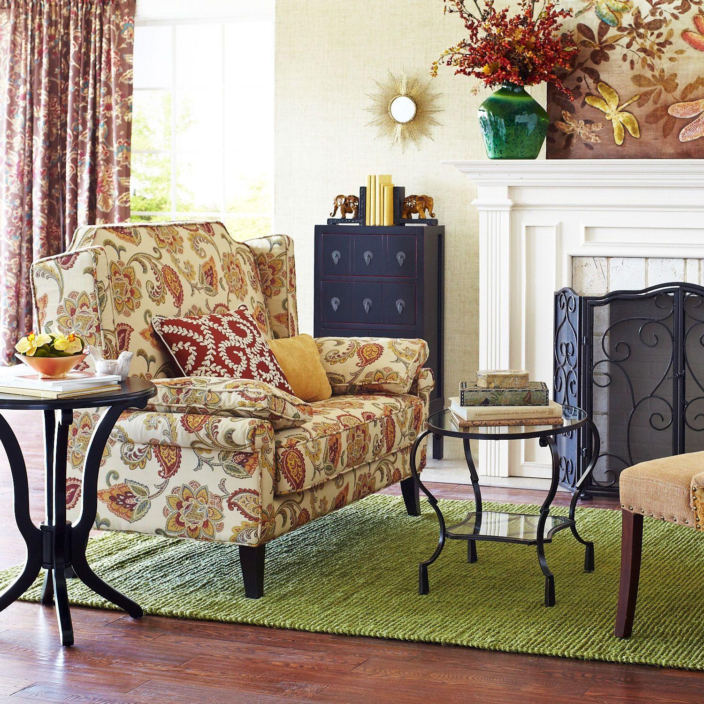Headington Loveseat Jacobean Living Rooms Pinterest