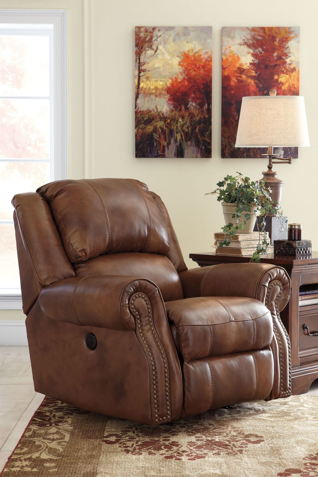 Walworth Power Recliner By Ashley Furniture At Kensington Furniture