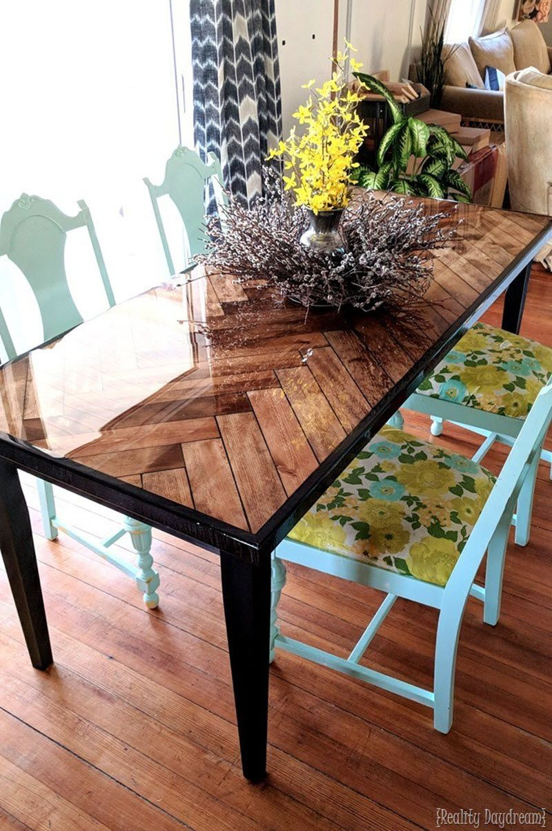 20 Gorgeous Diy Dining Table Ideas And Plans The House Of Wood Diy Dining Room Table Diy Dining Table Diy Dining