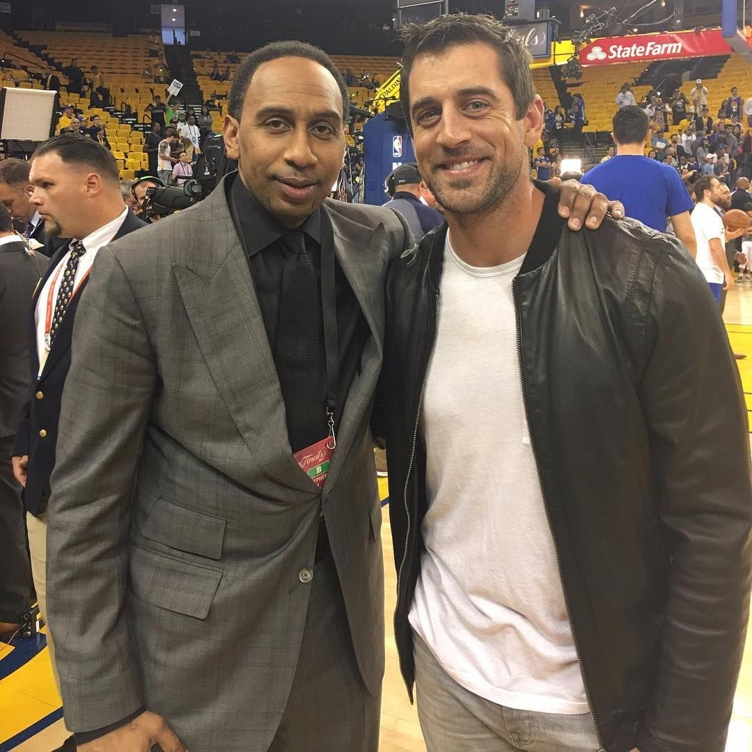 967 Likes 9 Comments Green Bay Packers Thepackerpage On Instagram Stephen A Smith And The Baaaaaad Maaaaaan Nfl Players Green Bay Packers Aaron Rodgers