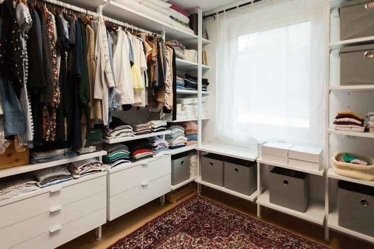 Hereinspaziert Unsere Ankleide Von Regalraum Wohn Projekt Begehbarer Schrank Ankleidezimmer Planen Und Alte Schranke