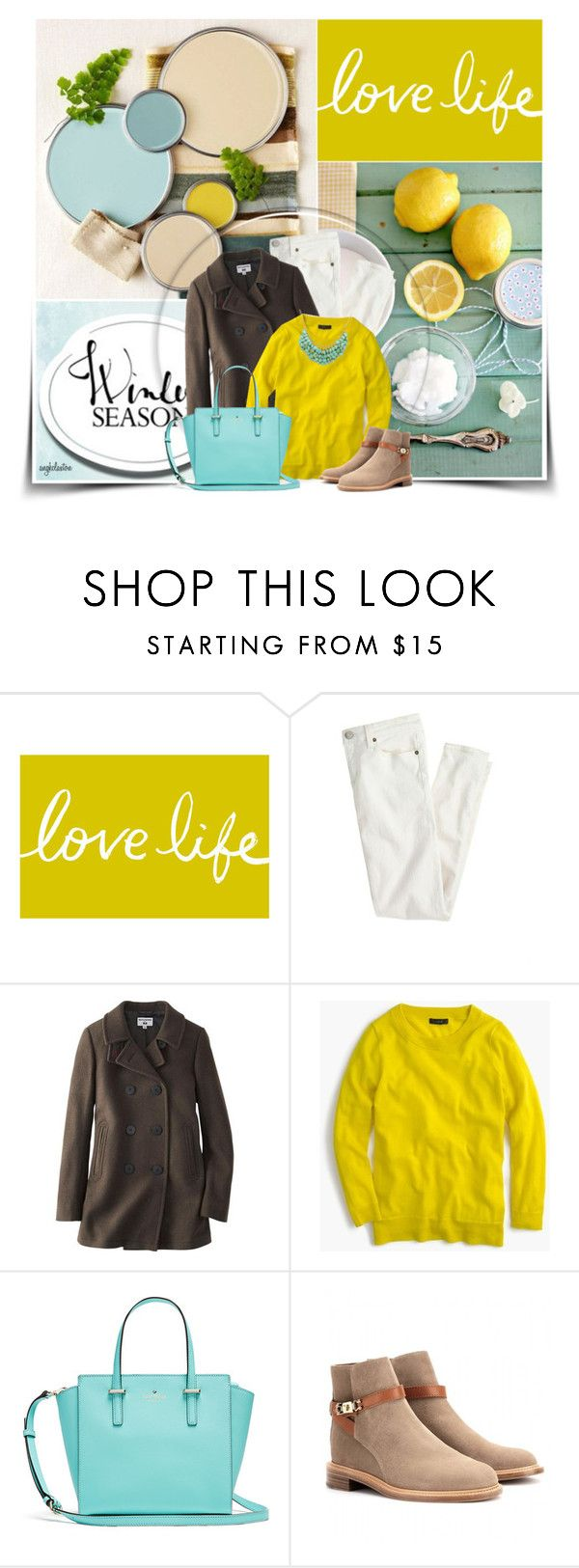 """""""Bright Colors for Winter"""" by angkclaxton ❤ liked on Polyvore featuring COMPENDIUM, J.Crew, Uniqlo and Chloé"""