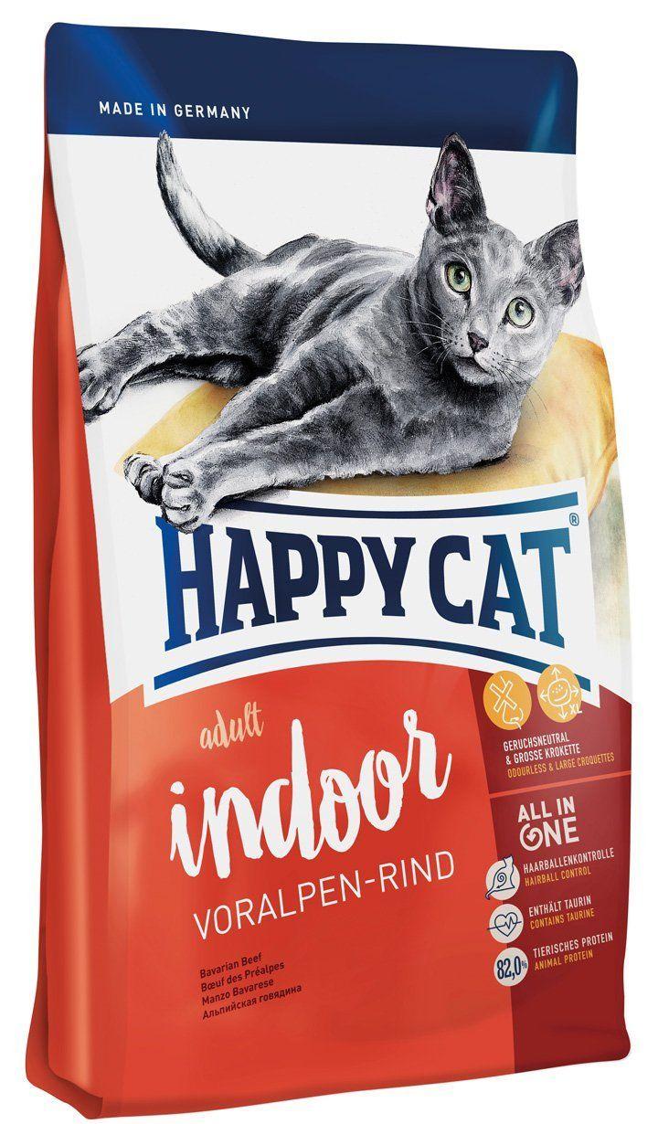 Happy Cat Indoor Adult Alpine Beef Pet Food, 10 kg ** You