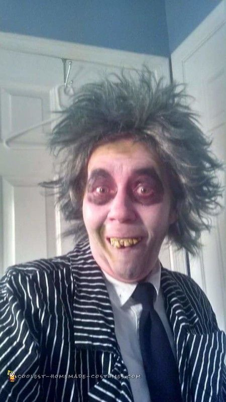 Coolest Homemade Beetlejuice Costume Ideas and Photos Scary - scary homemade halloween costume ideas