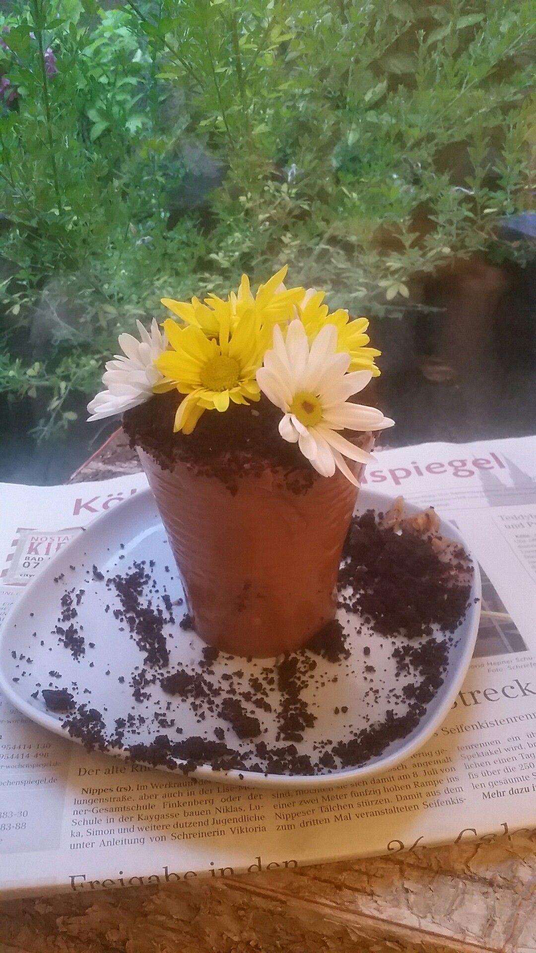 Blumentopfkuchen