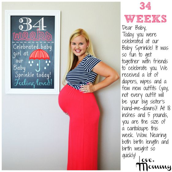 Baby #2 BUMP REPORT – 34 Weeks | Our Baby | 34 weeks