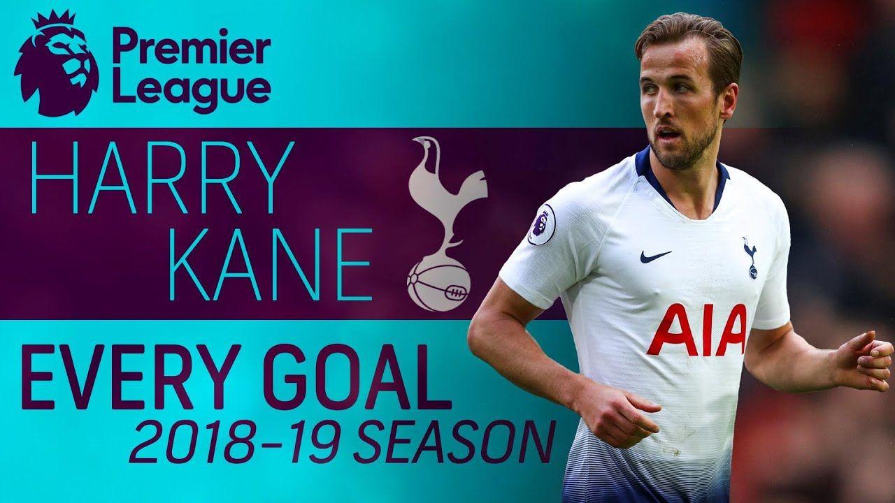 Watch every single goal HarryKane scored for Tottenham