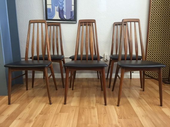 Amazing Danish Modern Walnut Eva Dining Chairs By Koefoeds By Creativecarmelina Interior Chair Design Creativecarmelinacom