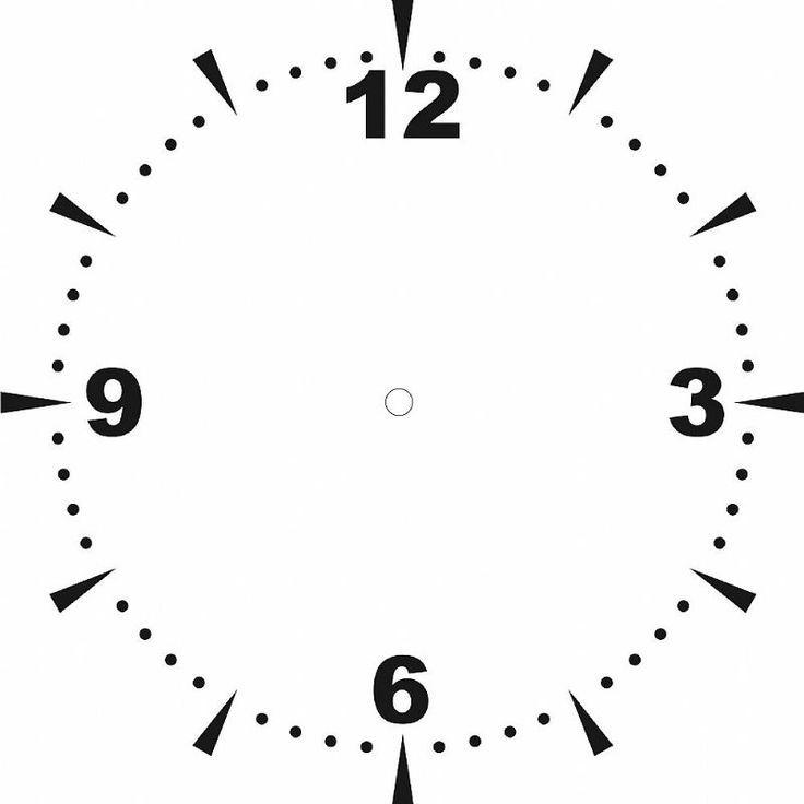 Pin by Светлана on Часовая шкала Pinterest Clocks, Diy clock and