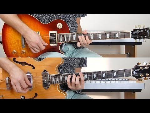 The Beatles - Come Together - Guitar Cover - YouTube