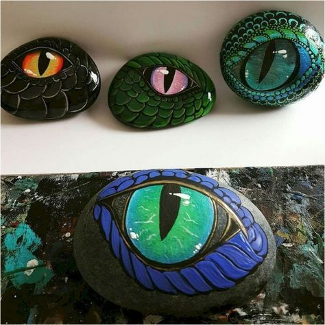 Over 100 inspirational DIY ideas for painted stones