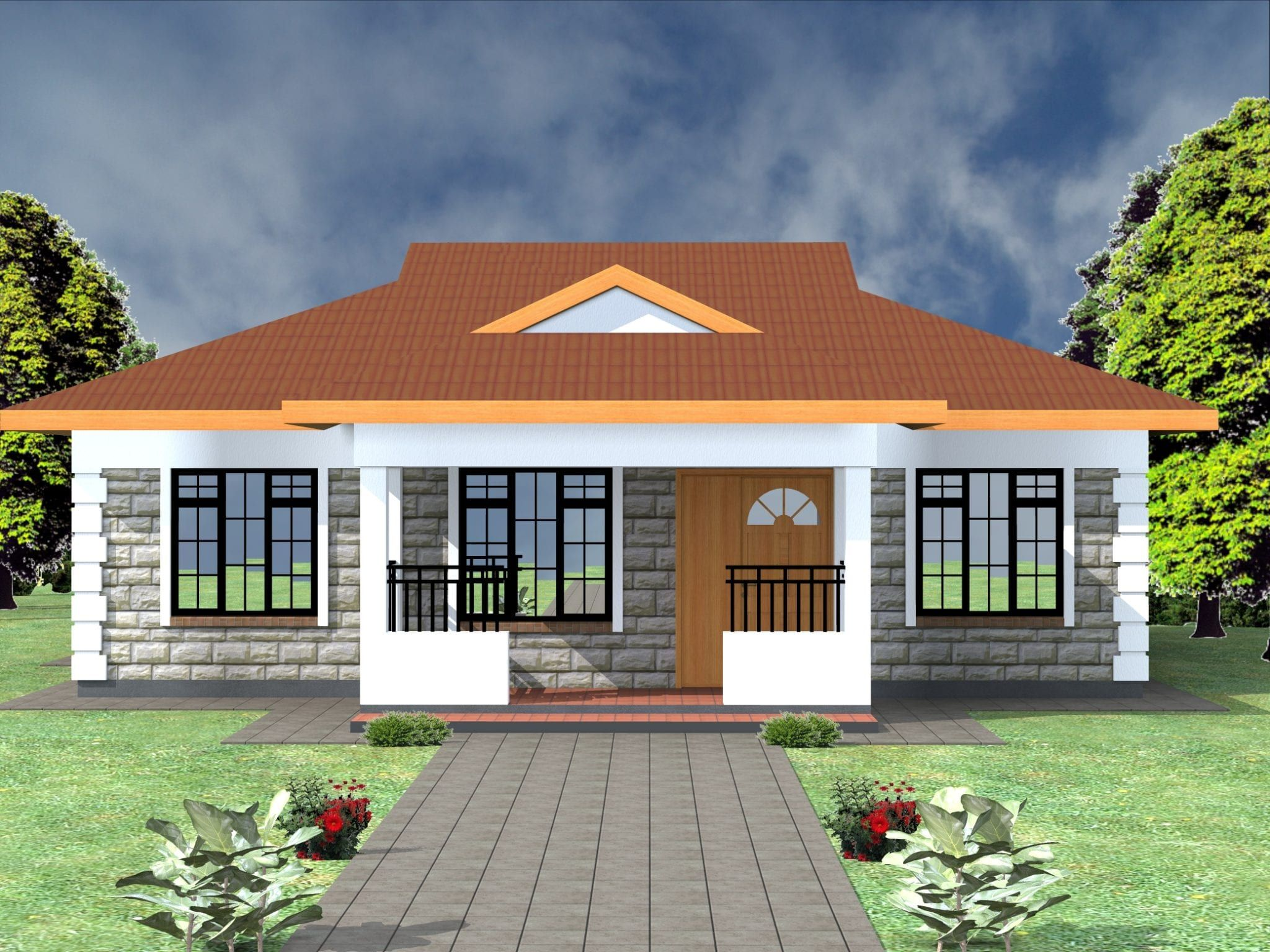 3 Bedroom Design 1097b Bedroom House Plans Beautiful House Plans Cottage Style House Plans