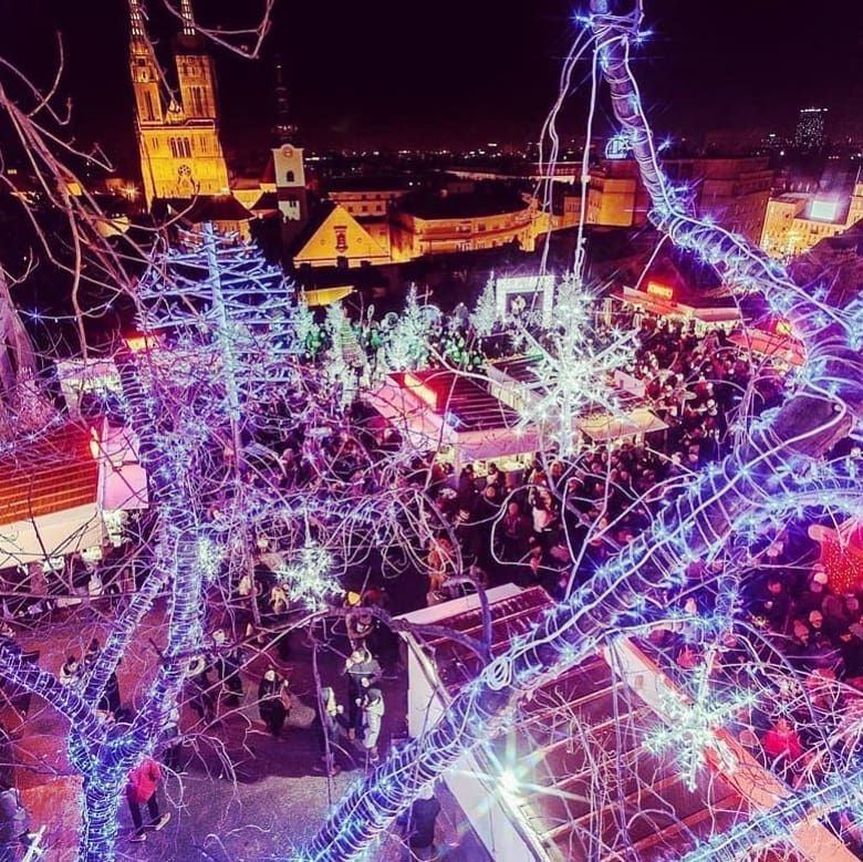 Christmas Lights Keep Shining On Bestdayever In Zagreb Christmas Lights Zagreb Instagram