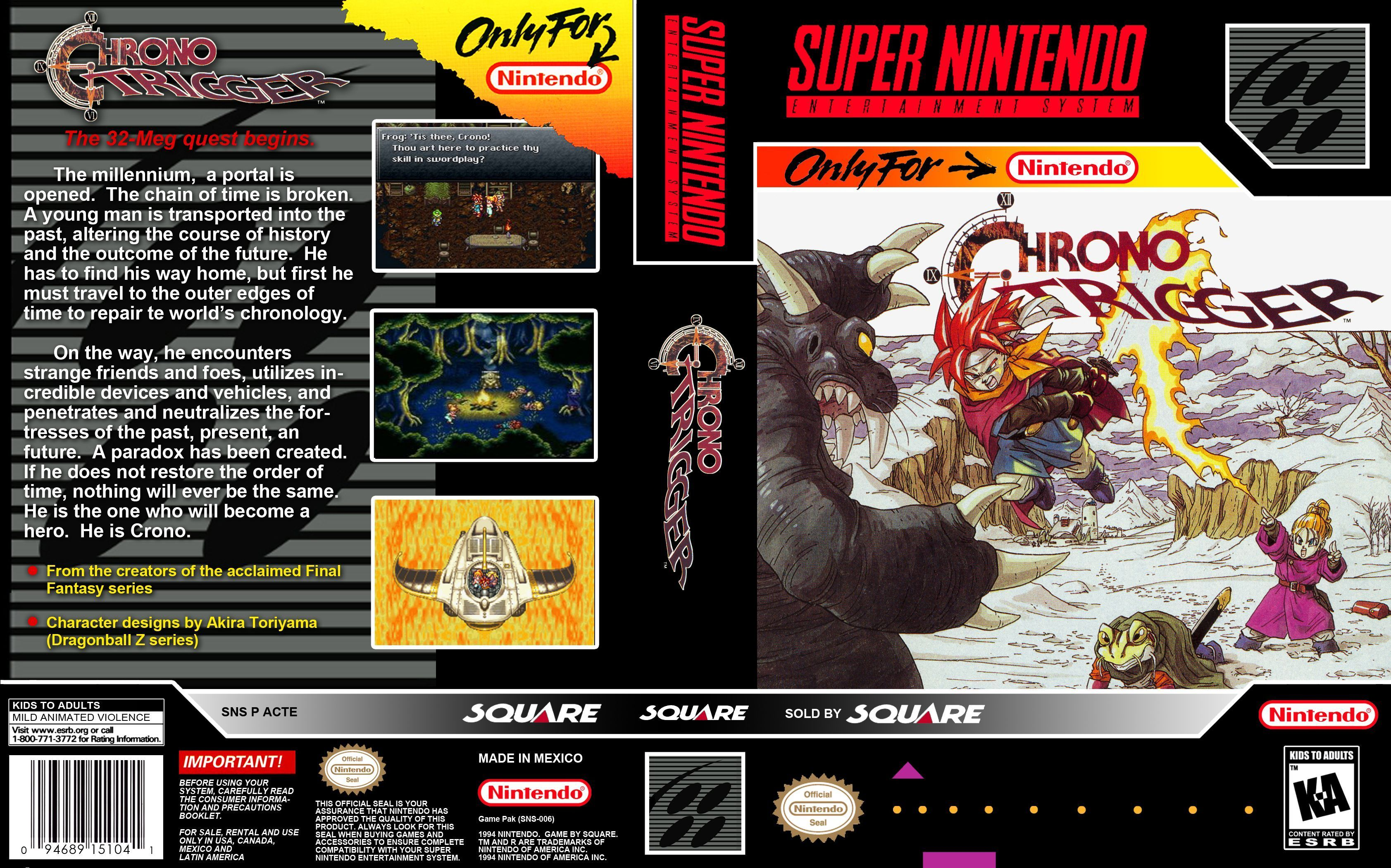 The best RPG   Classic Games   Chrono trigger, Best rpg, Games box