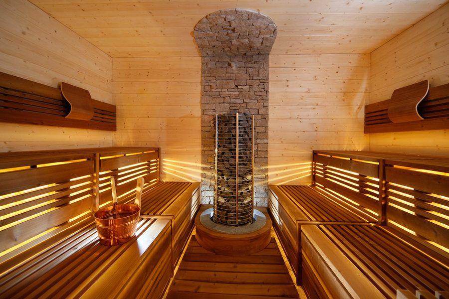 Beleuchten Sie Ihre Sauna und zaubern Sie ein ganz besonderes - sauna designs zu hause