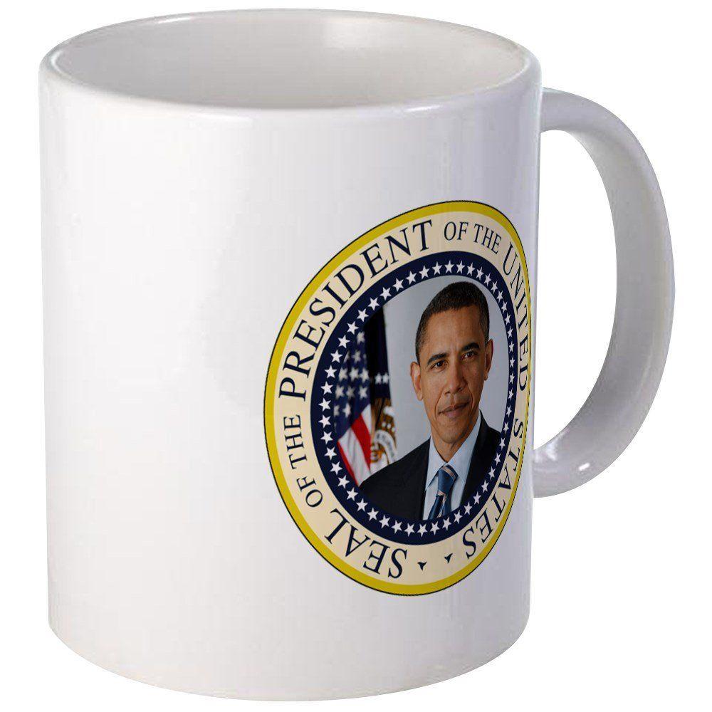 Cafepress president obama seal unique coffee mug