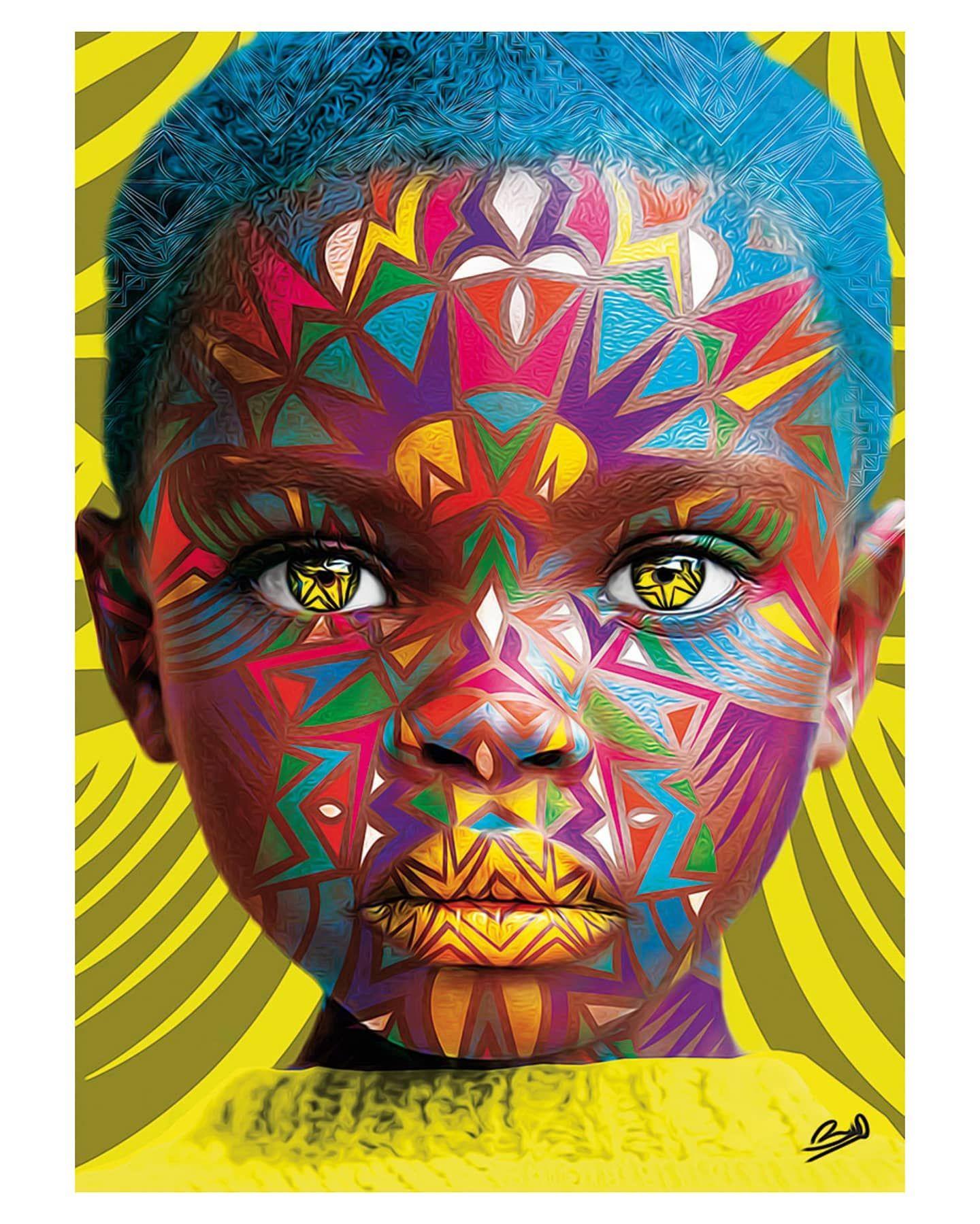 NAANGE ☀️ #Dopeblackart by @barosarre - Naange means sun in Senegalese Language  See more work at @barosarre   #photography#blackart #artoftheday#artfeature #artdaily #igart#digitaldrawing #realisticdrawing #pencildrawing #artspotlight #igartist #drawing #coolart #dopeart #blackartwork #artgallery #supportblackart #blackartist #coolartwork #artfido#artlife #artwork #dopeblackartist  For art subs or any business >>dopeblackart.com