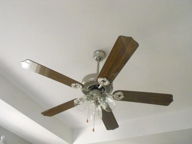 Painting A Ceiling Fan With Images Gold Ceiling Fan Ceiling