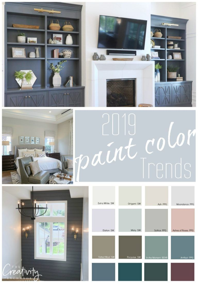2019 paint color trends and forecasts trending paint on lake house interior color schemes id=14763