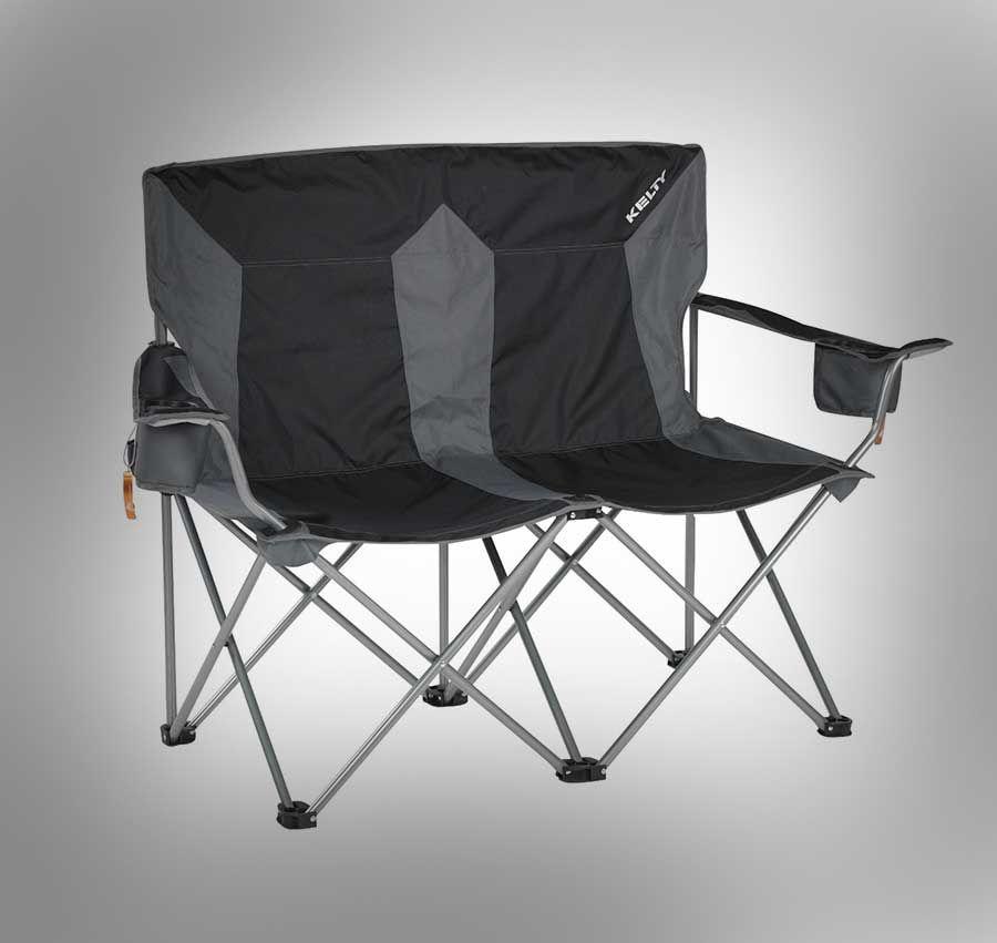 Outdoor Folding Love Seat Lawnchair Al Fresco