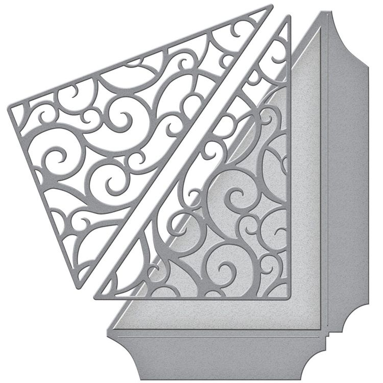 Art Nouveau Interior Design Ideas You Can Easily Adopt In: Spellbinders Wedding Filigree Side Pocket Shapeabilities