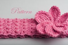 Free crochet patterns baby headbands!  934baa1668d