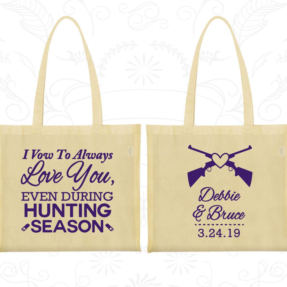 Wedding Favor Bags, Tote Bags, Wedding Tote Bags, Personalized Tote ...