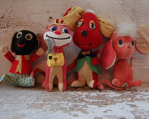 vintage japanese dream pet kamar toys by PeachParlor on Etsy
