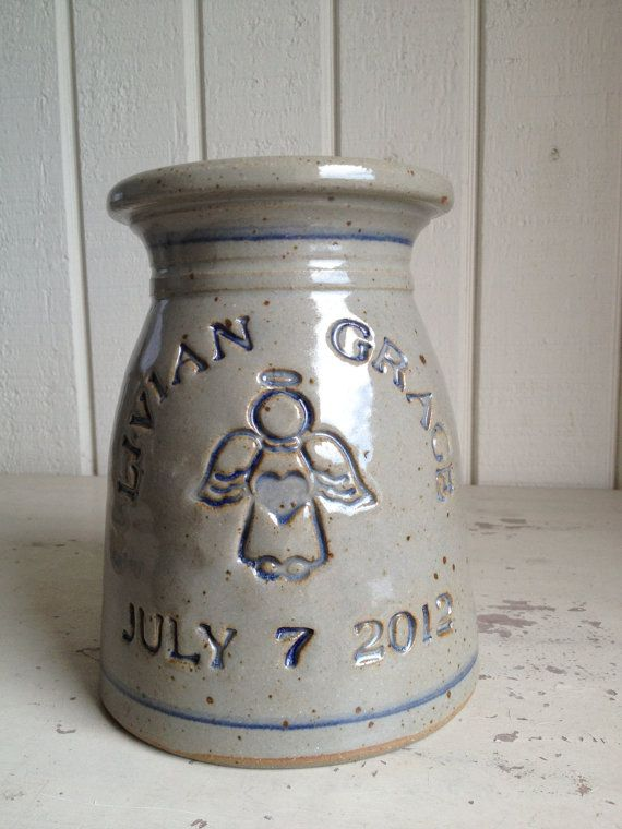 personalized stoneware baby gift