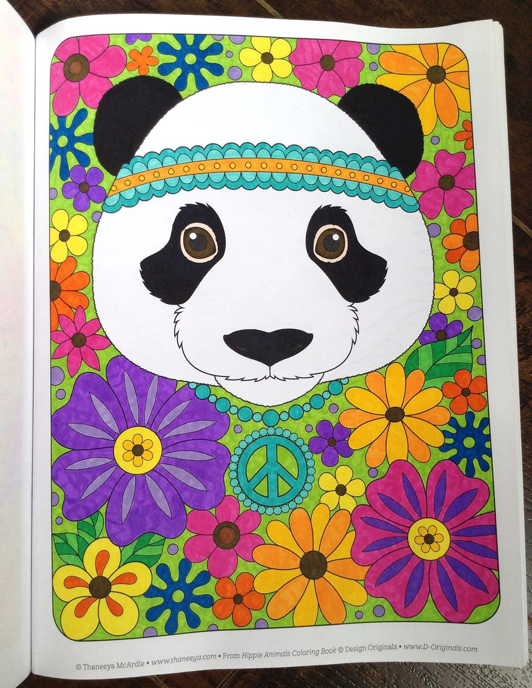 Colorist Showcase Tammy — Panda coloring