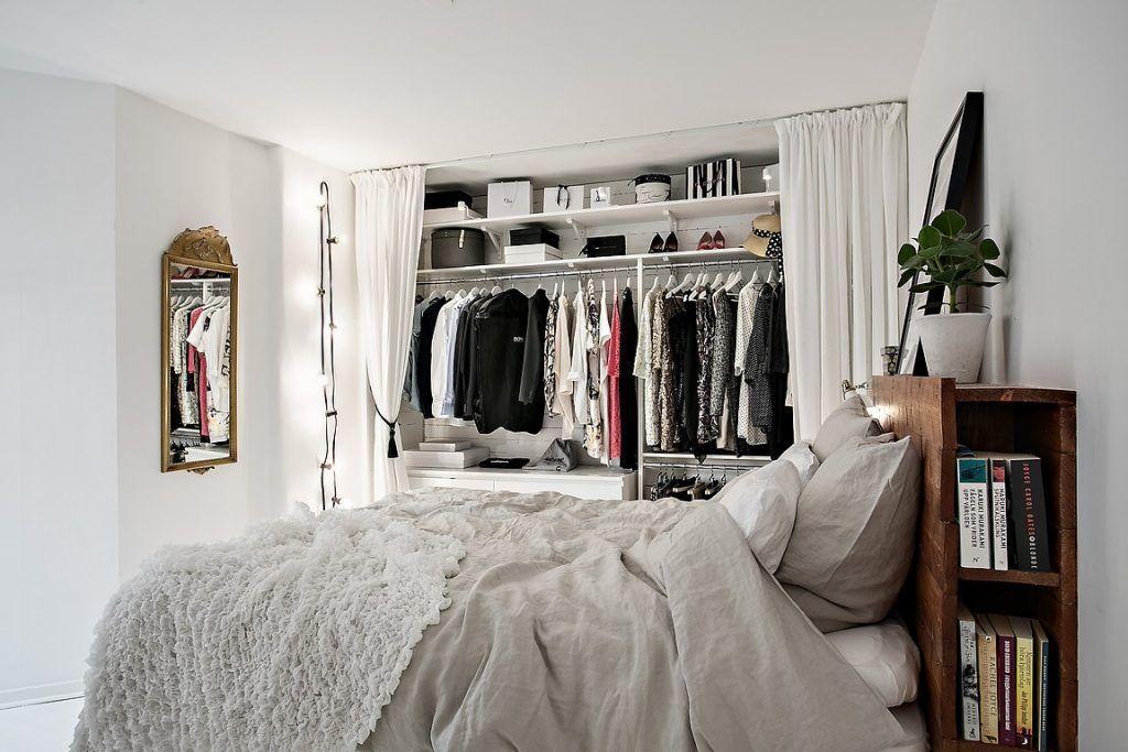 Inloopkast Met Gordijnen : Slaapkamer met inloopkast slaapkamer inspiratie