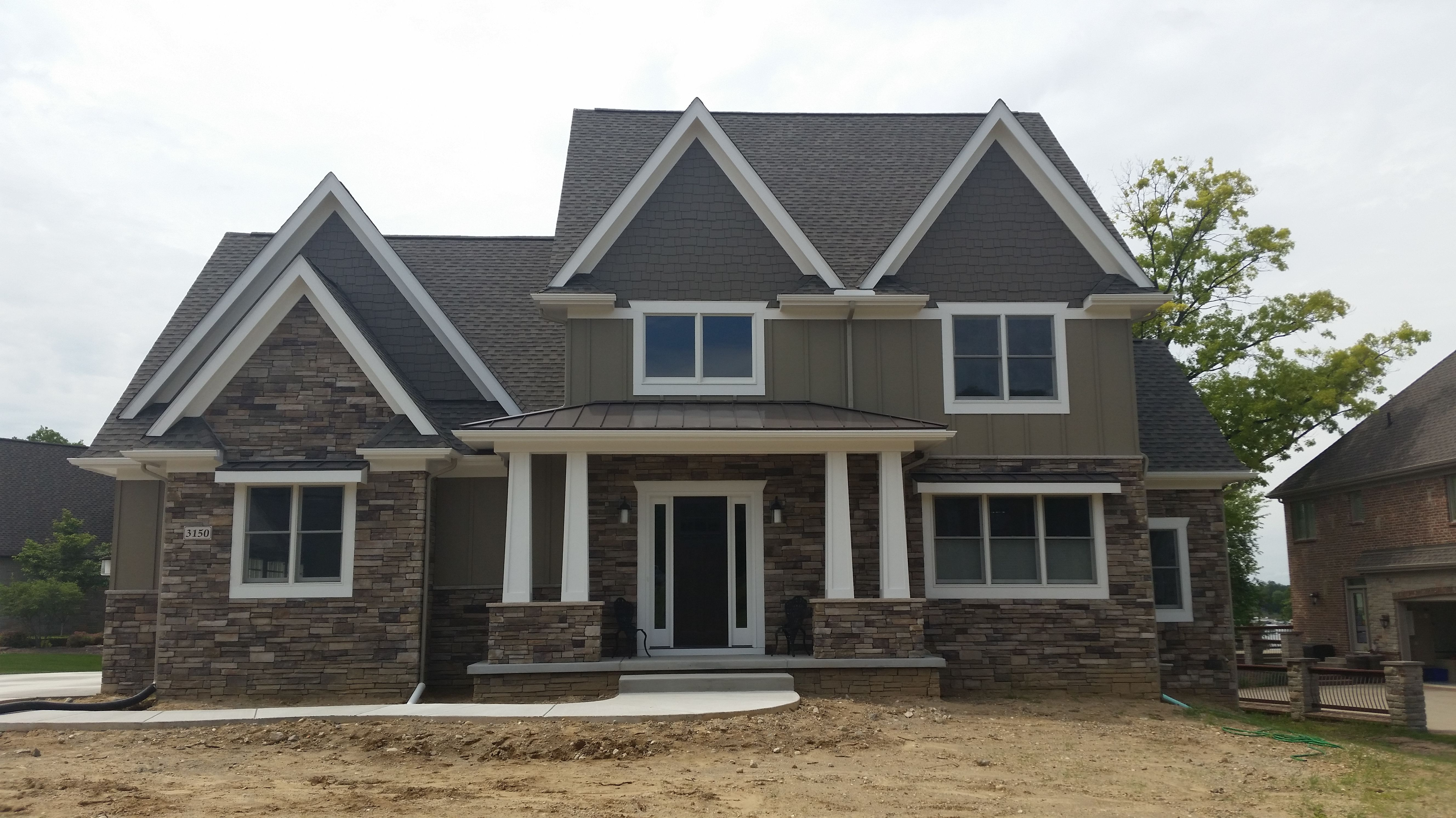 Stone Exterior: Bucks County Country Ledgestone By Boral Cultured Stone