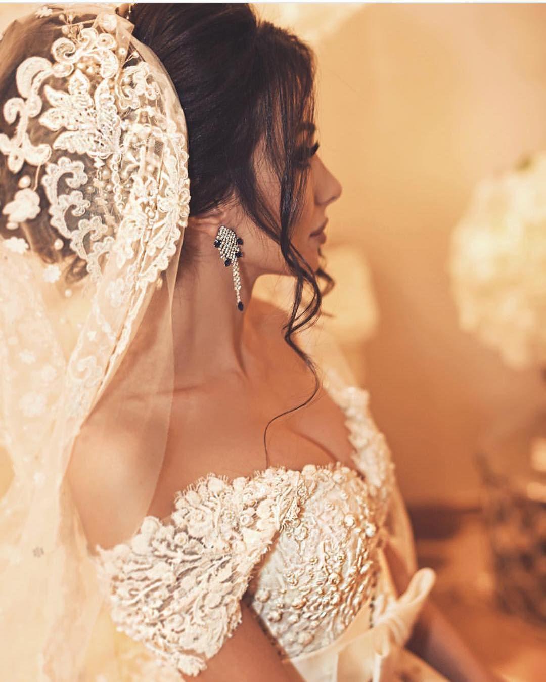 مساء الخير مكياج عروس عرس عرايس تسريحه كونتور رموش ديكور دزه زفه تصميم بوح روعه ذوق الكويت الامارات ال Wedding Dresses Wedding Bustier Bridal Wedding Dresses