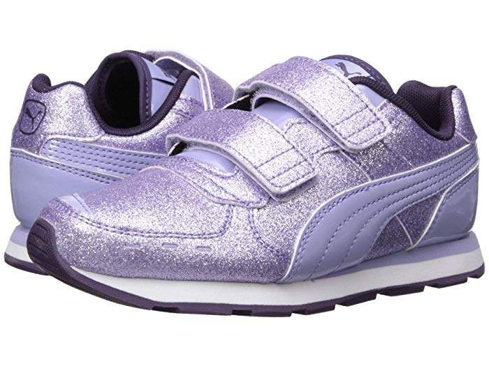 Puma Kids Vista Glitz Velcro (Little Kid) in 2019 Jenter  Girls