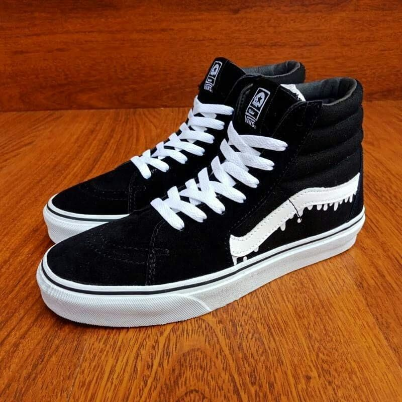 Geser Photo Untuk Detail Vans Sk8 Vans High Top Sneaker