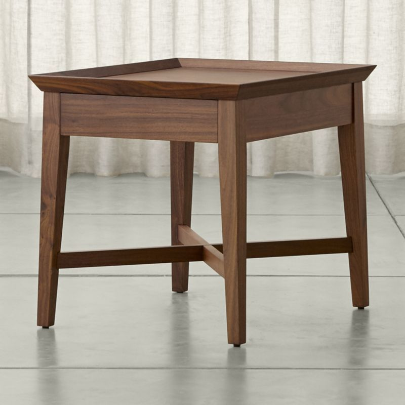 Strange Shop Bradley Walnut Side Table With Drawer The Perfect Alphanode Cool Chair Designs And Ideas Alphanodeonline