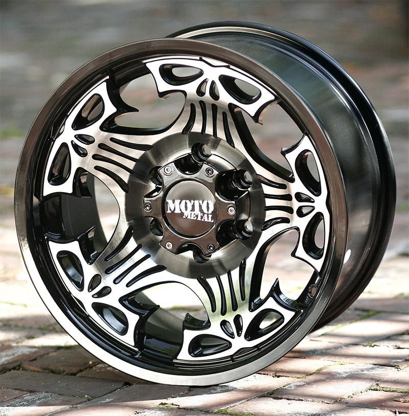 17 Inch Black Wheels Moto Metal 909 Skull Chevy Gmc 1500 Trucks 6 Lug Wheel Chevy Wheels Truck Rims And Tires