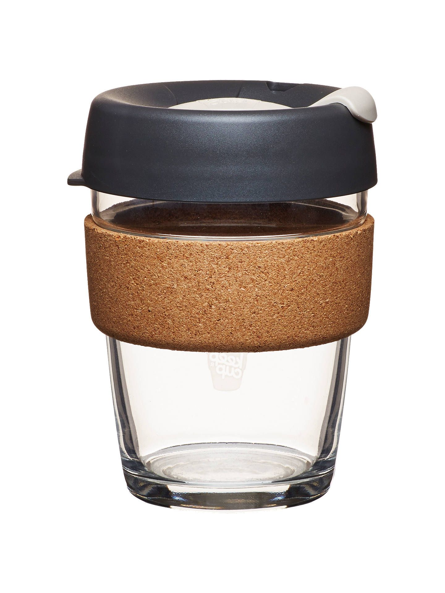 KeepCup Cork Brew Reusable 12oz Glass Coffee CupTravel Mug