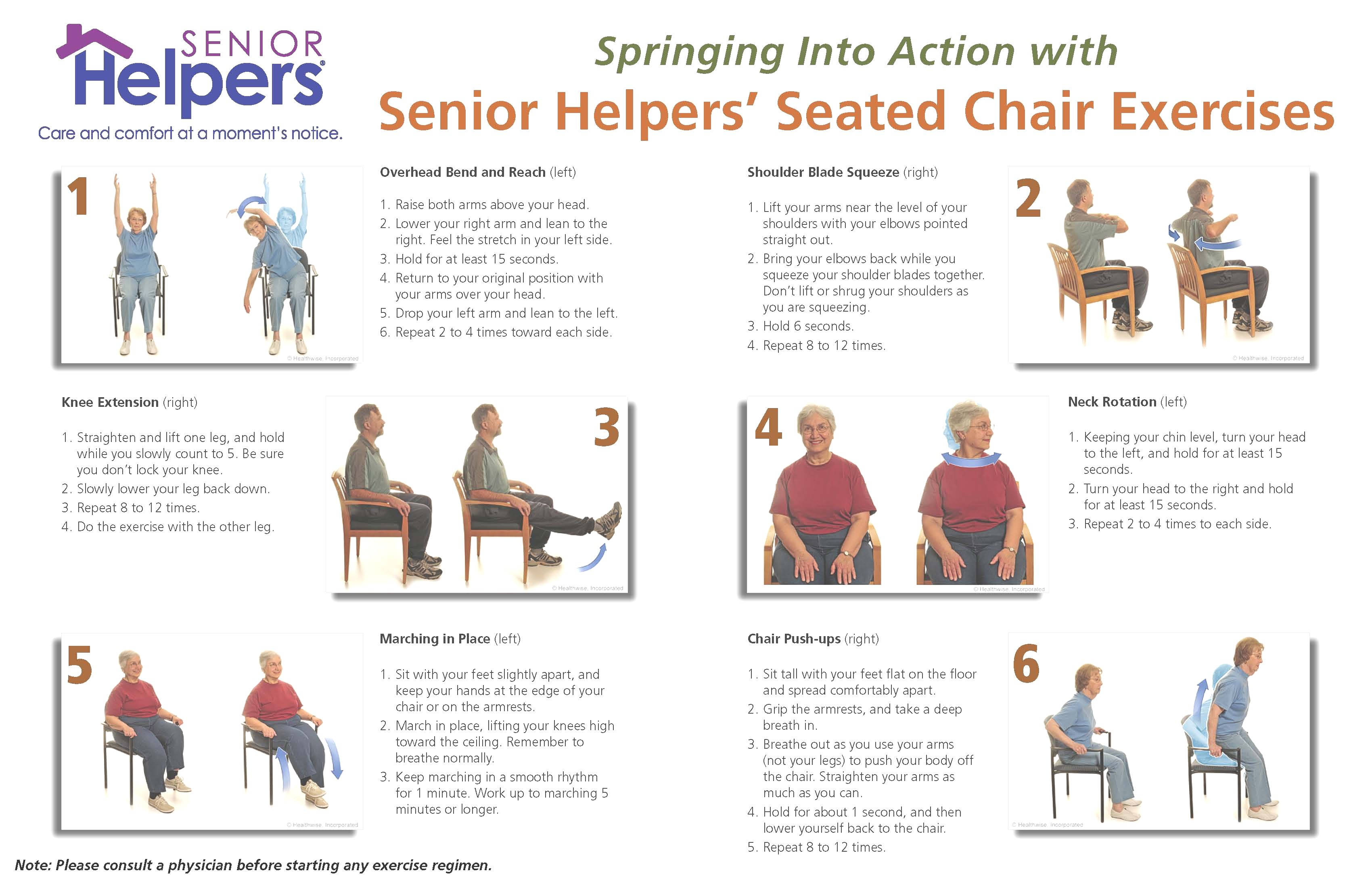 Chair Exercises For Seniors Pdf Unique Spring Into Action With Seated Chair Excercises Senior Helpers Minnesota O Chair Exercises Senior Helpers Senior Fitness