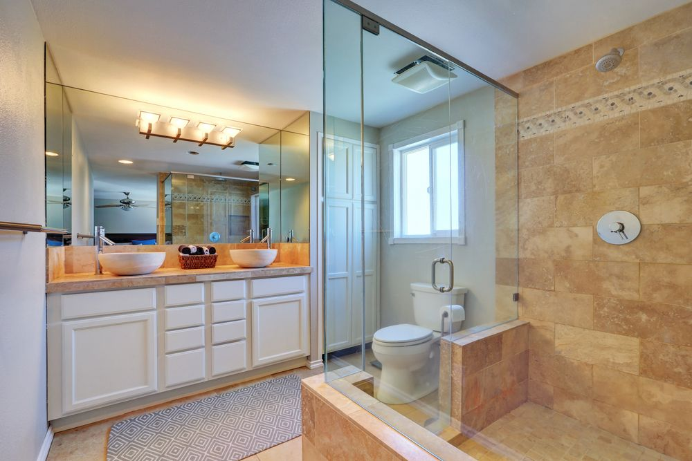 Expect Heavy Showers That S What Happens When You Design Your Own Bathroom Be Involved Every S Best Bathroom Designs Amazing Bathrooms Frameless Shower Doors