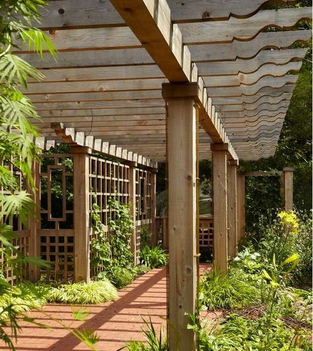 Pergola Gazebo Rafter Tails And End Designs Traditional