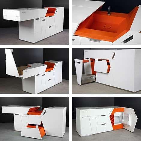 36 Transforming Furniture Designs Space Saving Furniture