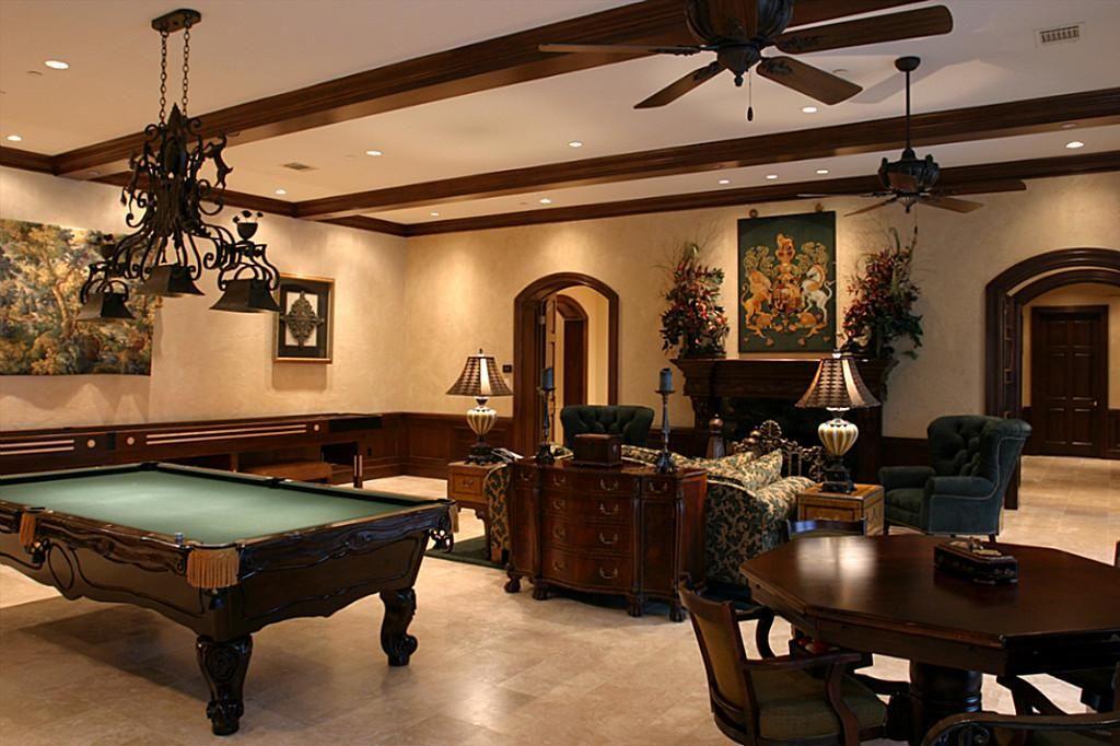 Game Room — Greenwood King Properties  Archtliving  Pinterest Amusing Pool Table Living Room Design Design Inspiration