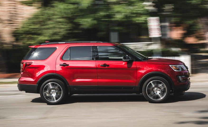 2017 Ford Explorer Release Date, Price, Review. Interior