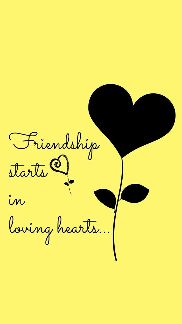 Pin By Kool Bandit On Black And Yellow Friendship Quotes