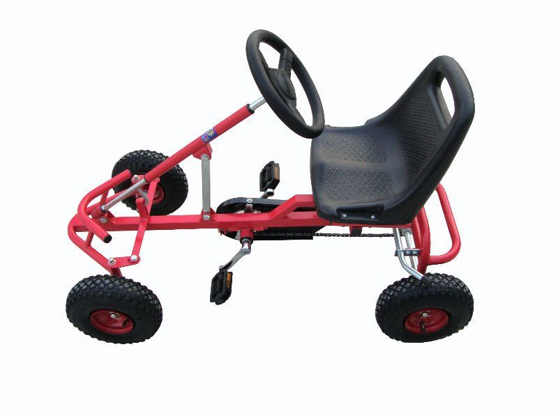 NEWEST TOY children pedal go kart with four-wheel one seat