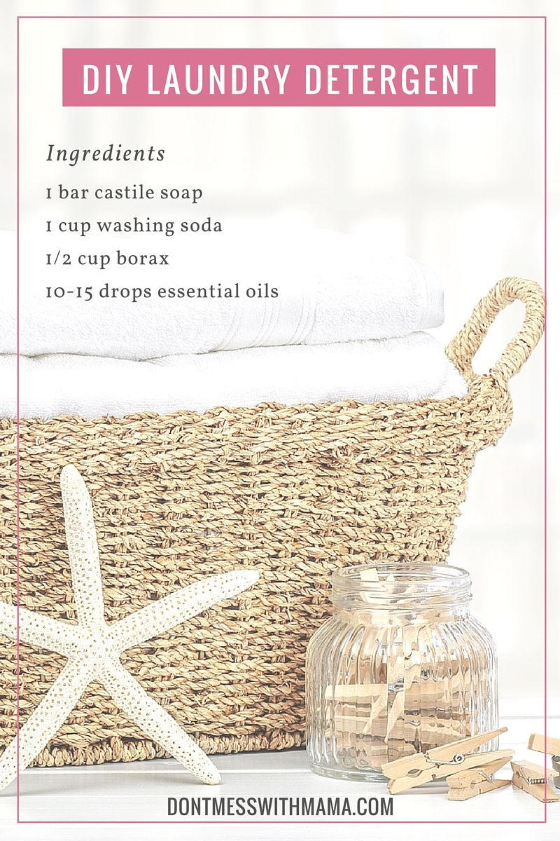 Diy Natural Laundry Detergent With Images Diy Natural Products Natural Laundry