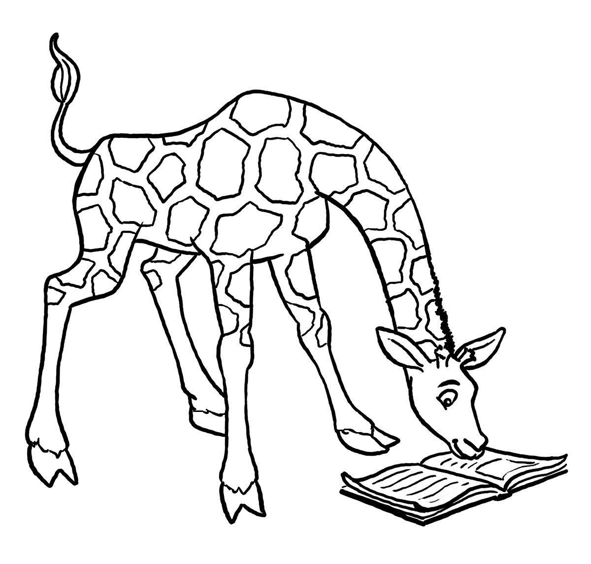 Uncategorized Giraffe Print Out seeing giraffes books pinterest giraffe coloring pages for kids printable kids