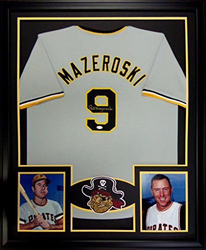 Robot Check Framed Jersey Autograph Jersey Pittsburgh Pirates
