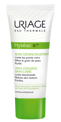 Hyseac K18 Soin Desincrustant Les Soins Uriage Cosmetics Ingredients Proactive Skin Care Skin Care